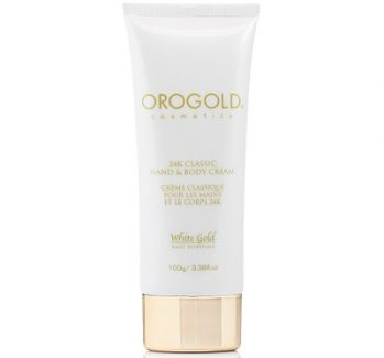 orogold 24k classic hand and body cream
